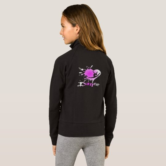 Heart Splash Dance Girls' Practice Jacket