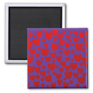 Heart Square Magnet