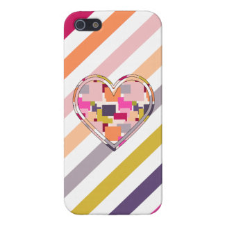 HEART SQUARED iPhone 5 COVERS