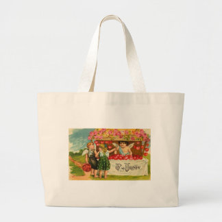 Heart Stand Tote Bag