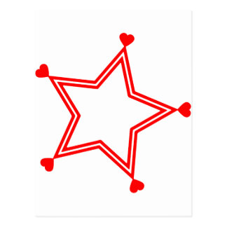 heart-stars-5 postcard