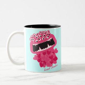 Heart Stealer Two-Tone Coffee Mug