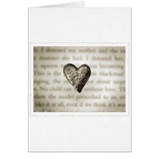 Heart (Stone) Greeting Card