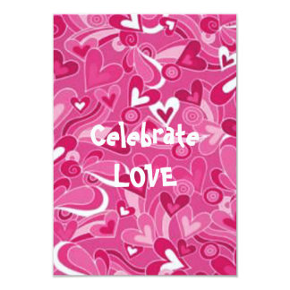 Heart Storm Valentine's Day Party Invitations
