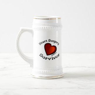 Heart Surgery Survivor Beer Steins