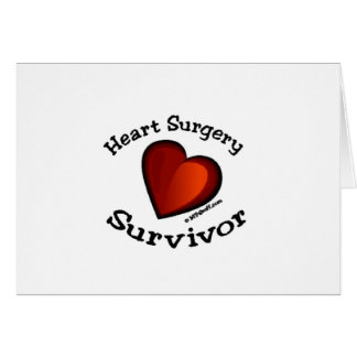 Heart Surgery Survivor Card