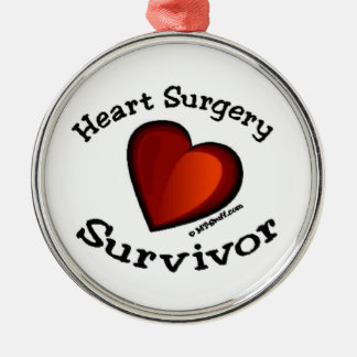 Heart Surgery Survivor Christmas Ornament