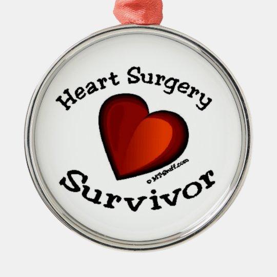 Heart Surgery Survivor Christmas Ornament