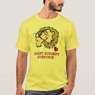 Heart Surgery Survivor Lion T-Shirt