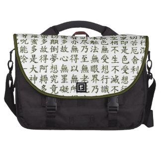 Heart Sutra Computer Bag