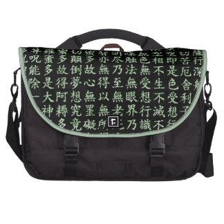 Heart Sutra Laptop Computer Bag