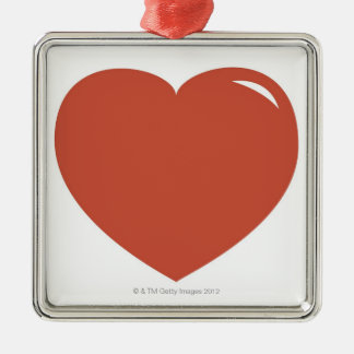 Heart Symbol Christmas Ornament