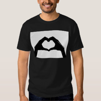 Heart Symbol made with Hands Shirt