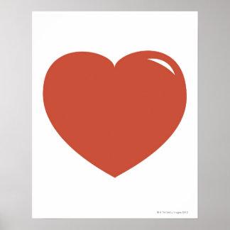 Heart Symbol Poster