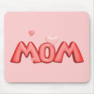 Heart T-shirts and Gifts For Mom Mouse Mat