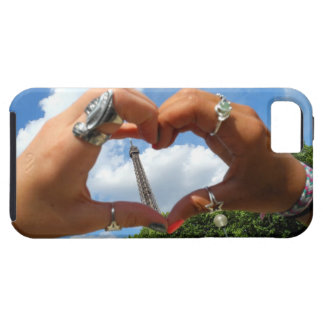Heart the Eiffel Tower iPhone 5 case