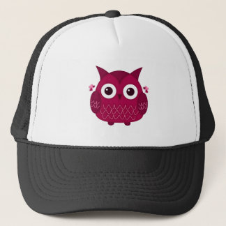 Heart the Pink Owl Trucker Hat