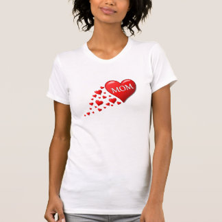 Heart Trails Mom T-Shirt