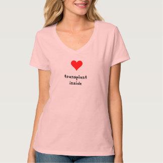 Heart Transplant Inside T-Shirt