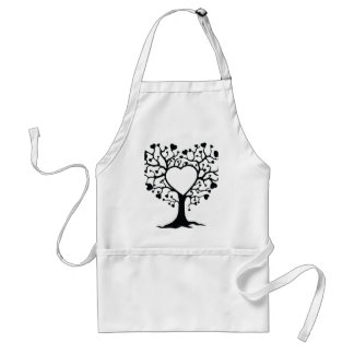 Heart Tree Aprons