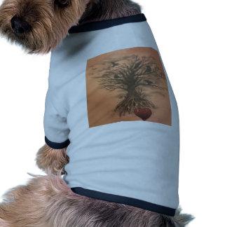 heart tree pet clothing