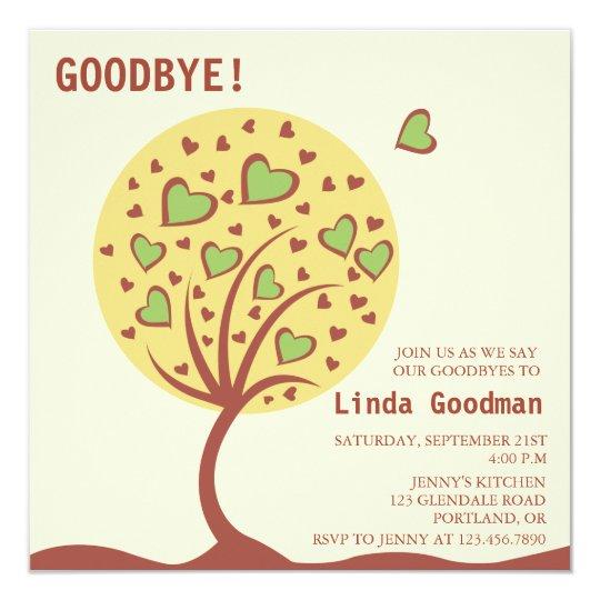 Heart Tree - Farewell Party Invitation