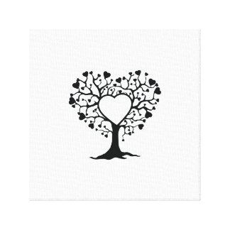 Heart Tree Gallery Wrap Canvas