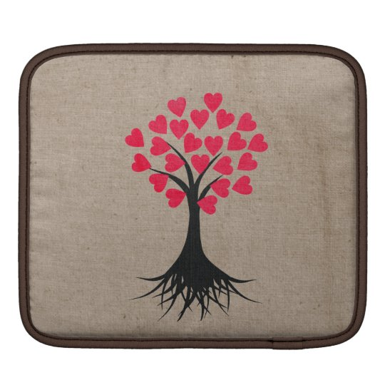 Heart Tree iPad Sleeves
