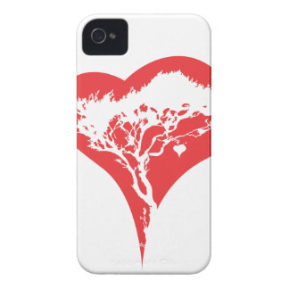 Heart Tree iPhone 4/4S Case