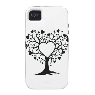 Heart Tree iPhone 4/4S Covers