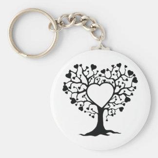Heart Tree Key Chain