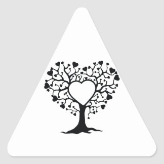 Heart Tree Stickers