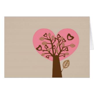 Heart Tree Valentine s Day Card