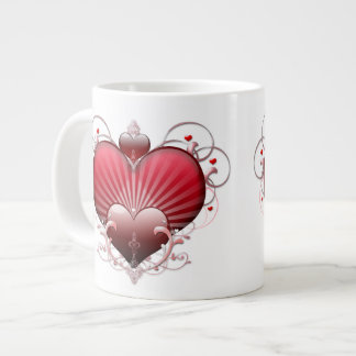 Heart Trio Large Coffee Mug