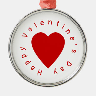 Heart Valentine's Day Christmas Ornament