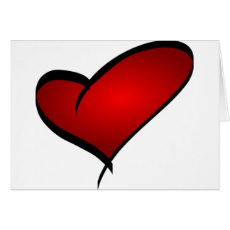 Heart Valentine's Day Greeting Card