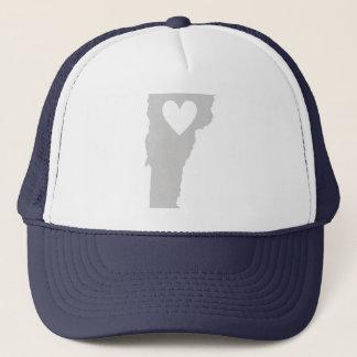 Heart Vermont state silhouette Trucker Hat