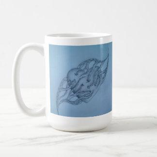 Heart Vines Basic White Mug