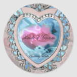 Heart Wedding Sticker
