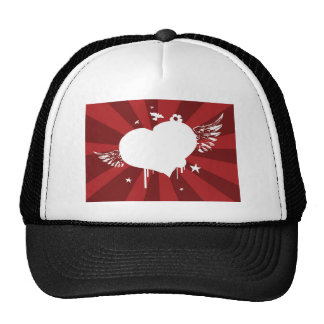 Heart Wings Trucker Hats