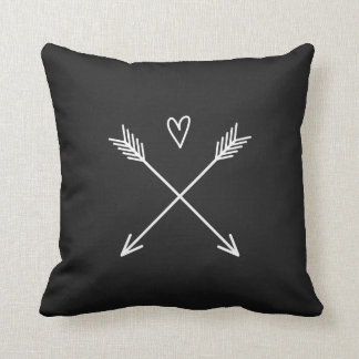 Heart with Arrows Cushion