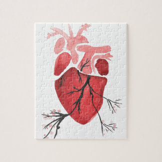 Heart With Branches Puzzles