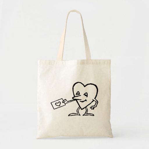 Heart with Love Letter Bags