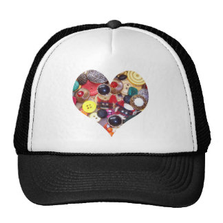 Heart with Scottie Dogs Mesh Hats