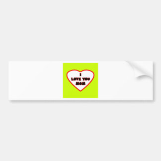 Heart Yellow Transp Filled The MUSEUM Zazzle Gifts Bumper Sticker