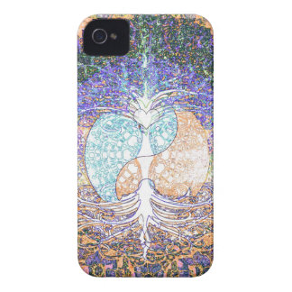 Heart, yin yang, tree of life by Amelia Carrie iPhone 4 Cover
