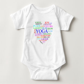 Heart Yoga Shirt - Baby Yoga Clothes