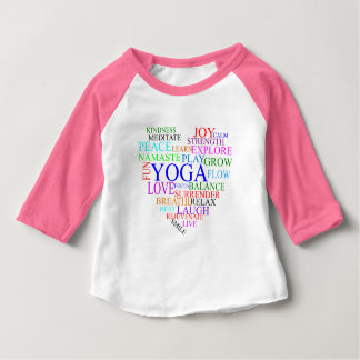 Heart Yoga Shirt - Baby Yoga Clothes