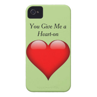 Heart You Give Me a Heart-on iPhone 4 Cases