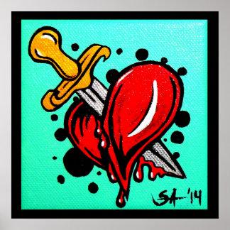 """Heartache"" 122 poster"